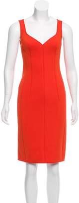 Lanvin Neoprene Sleeveless Dress w/ Tags