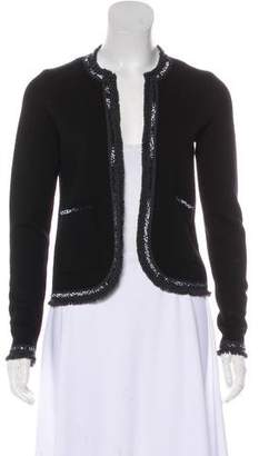 Tory Burch Embellished Long Sleeve Blazer