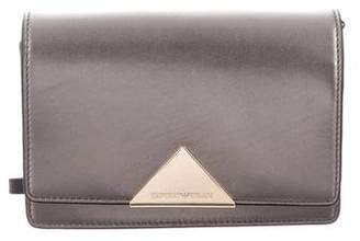 Emporio Armani Metallic Leather Crossbody