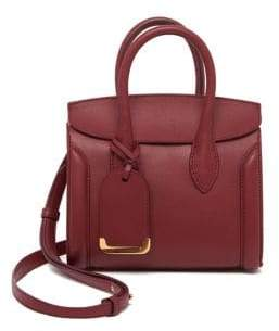 Alexander McQueen Heroine Mini Leather Shopper 21