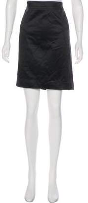 Alessandro Dell'Acqua Satin Knee-Length Skirt