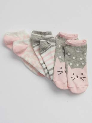 Gap Cat No-Show Socks (3-Pack)