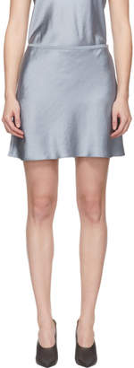 Alexander Wang Blue Wash and Go Miniskirt