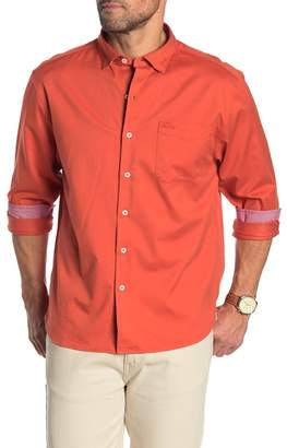 Tommy Bahama Oasis Twill Original Fit Long Sleeve Shirt