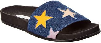 Stella McCartney Star Denim Slide Sandal