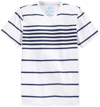 American Rag Men Stripe V-Neck T-Shirt