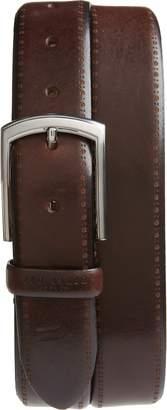 Ted Baker Burnished Brogue Leather Belt