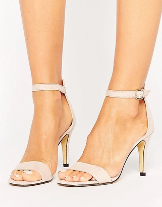 Oasis Barely There Sandals $53 thestylecure.com