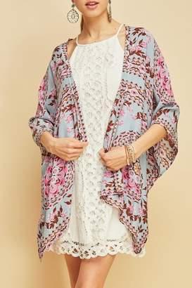 Entro Tribal Print Kimono