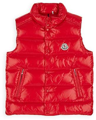 Moncler Kids' Tib Down-Quilted Vest