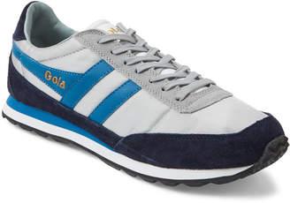 Gola Grey & Navy Flyer Trainer Sneakers