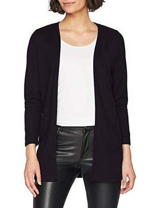 Only Women's Onllilli 7/8 Cardigan JRS (Dark Grey Melange Detail: Black), 8 (Size: X-Small)