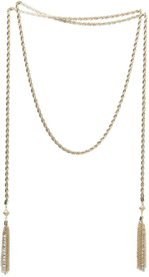 Arden B Long Chain Tassel Fringe
