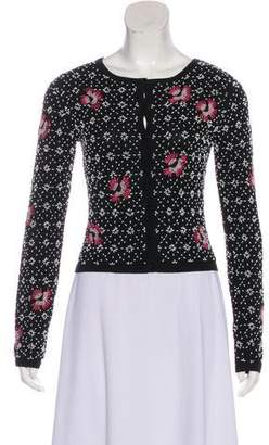 Philosophy di Alberta Ferretti Embellished Knit Cardigan