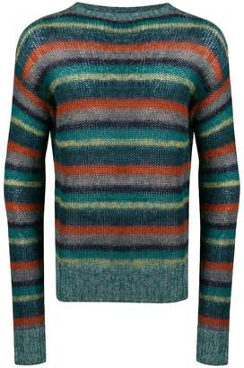 Prada striped pattern jumper