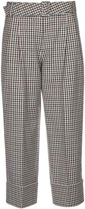 Antonio Marras Patterned Print Cropped Trousers