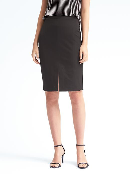 Banana Republic  Bi-Stretch Pencil Skirt