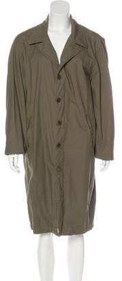 Helmut Lang Vintage Long Zip-Up Coat