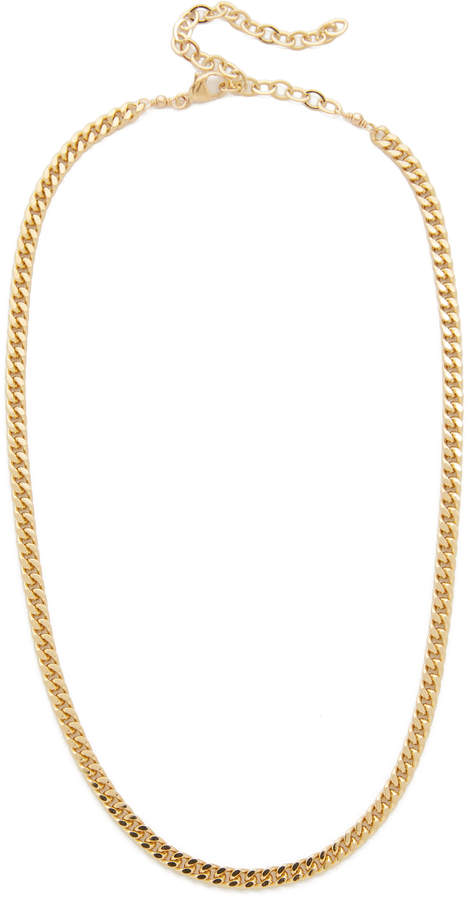 Jacquie Aiche JA Flat Chain Necklace