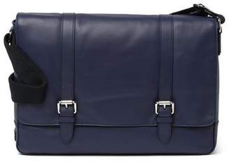 Cole Haan Smooth Leather Messenger Bag