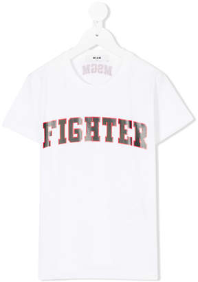 MSGM Fighter T-shirt