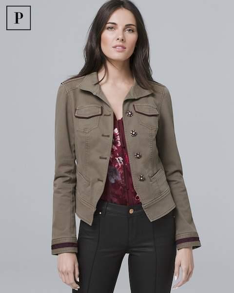 Whbm Petite Casual Jacket