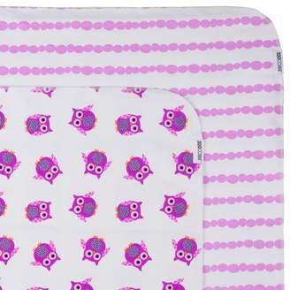 Zoocchini 100 Percent Cotton Receiving Blankets Owl/Purple