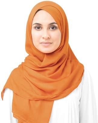 Silk Route InEssence Orange Pepper Viscose Woven Scarf Women Girls Wrap Size Hijab