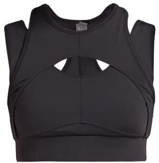 adidas by Stella McCartney Triathlon Crop Top - Womens - Black