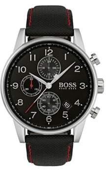 HUGO BOSS Navigator Stainless Steel Strap Watch