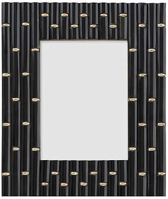 One Kings Lane 5x7 Clifford Links Picture Frame - Black/Gold