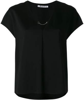 Alexander Wang short-sleeved top with chain