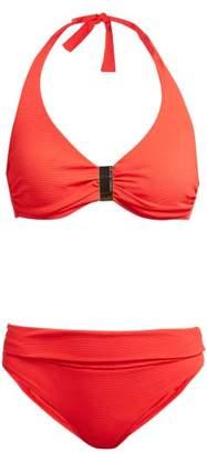 Melissa Odabash Provence Underwired Halterneck Bikini - Womens - Red