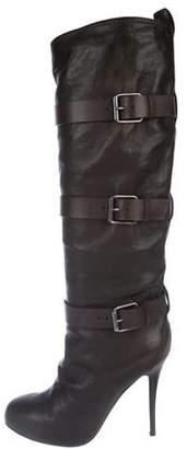 Giuseppe Zanotti Leather Knee-High Boots