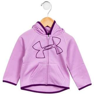 Under Armour Girls' Athletic Logo Hoodie