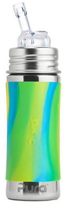 PURA STAINLESS Swirl Sleeve Straw Bottle