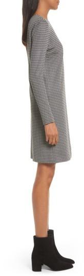 Women's Theory Wynter Houndstooth Knit Dress 5