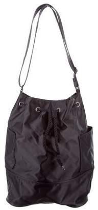 Courreges Embroidered Drawstring Bucket Bag