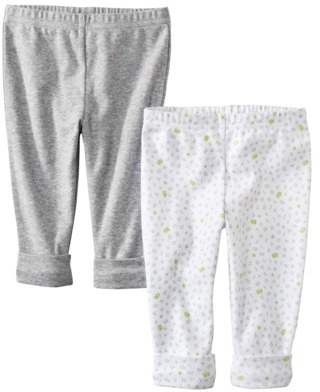 Carter's Precious Firsts TM Made by Newborn Boys 2 Pack Pant - Grey
