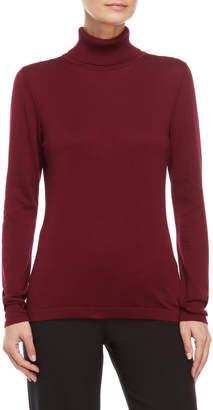 August Silk Turtleneck Sweater