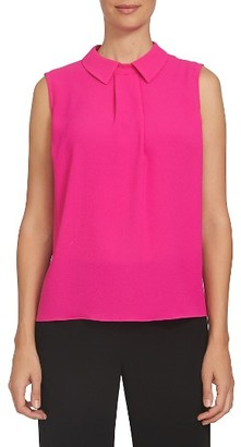 Women's Cece Pleat Front Blouse $69 thestylecure.com