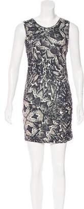Haute Hippie Sleeveless Knit Mini Dress
