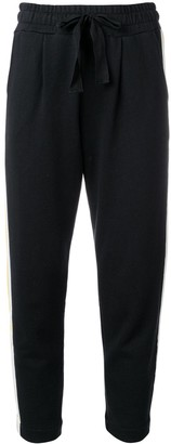 Parker Chinti & side stripe track pants