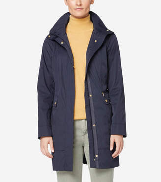 Cole Haan Travel Packable Classic Coat