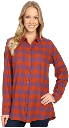Woolrich Buffalo Check Boyfriend Shirt $59 thestylecure.com