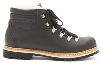 Margherita Montelliana Leather Boots - Womens - Black