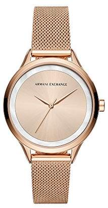 Armani Exchange Women's Quartz Stainless Steel Casual Watch