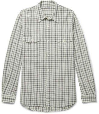 Our Legacy Checked Crepe Shirt