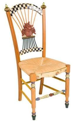 Mackenzie Childs MacKenzie-Childs Flower Basket Chair