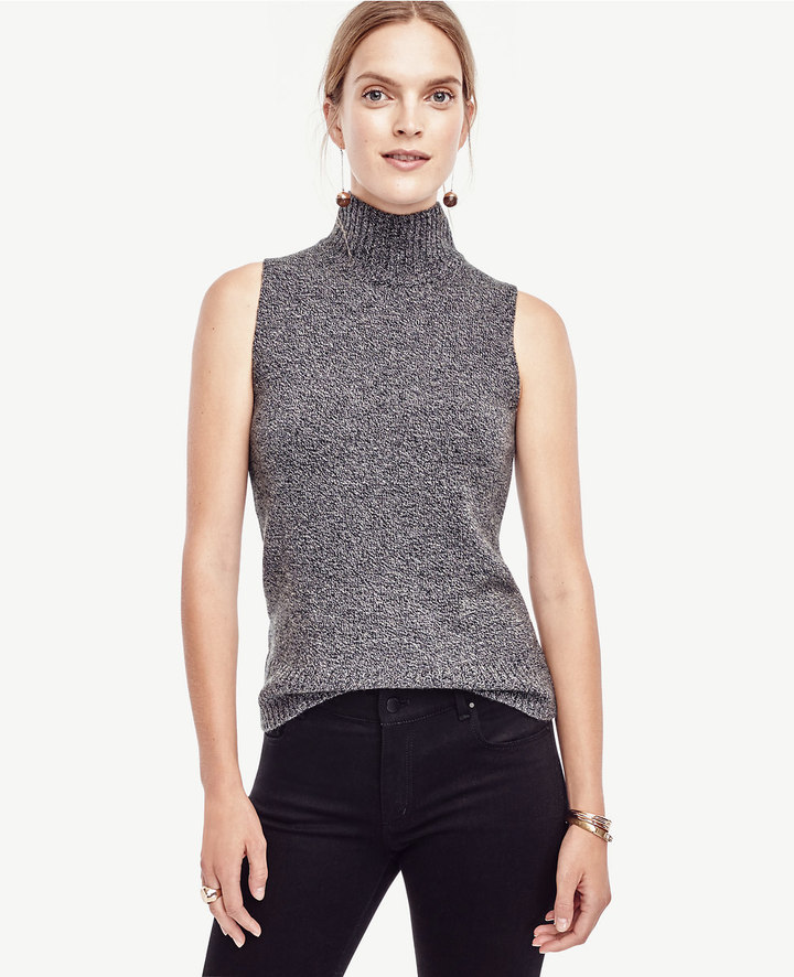 Ann Taylor Cashmere Sleeveless Sweater